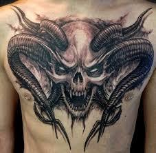 skull chest amazing ideas