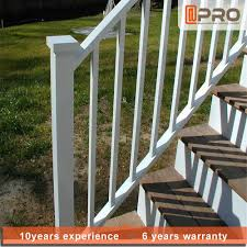 Exterior Stair Railing by Powder Coated Aluminum Railing Powder Coated Aluminum Railing