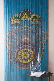 Bamboo Door Curtains Bamboo Curtain Hamsa Earthbound Trading Co Earthbound