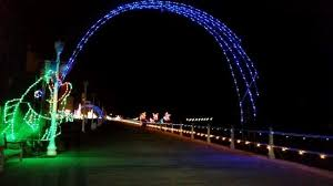 va beach christmas lights the christmas lights picture of virginia beach boardwalk virginia