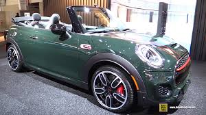 2017 mini john cooper works convertible exterior and interior