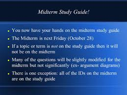 informal fallacies sign in quiz midterm study guide ppt download