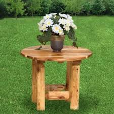 Log Outdoor Furniture by Amish Log Patio Furniture Solid Wood Construction In Log Style