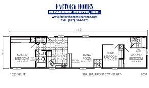 single wide 3 bedroom mobile homes