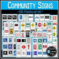 community safety survival signs u0026 symbols 135 cards digital download