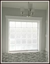 Glass Block Designs For Bathrooms by Fine Bathroom Window Replacement With Decorating