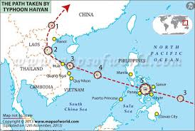 Map Of Phillipines 8 Maps That Explain Why Typhoon Haiyan Hit The Philippines So Hard
