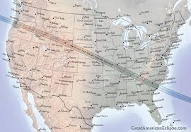 Map Of Usa With Time Zones by Solar And Lunar Eclipses In 2017 Sky U0026 Telescope