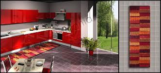 tappeti cucina on line da cucina in cotone bordeaux