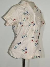 vintage blouse 1950 s vintage miller wear shirt blouse novelty