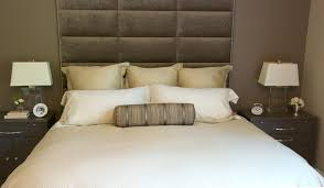 diy upholstered headboard wooden cleat on wall before surripui net