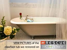 Best Way To Refinish Bathtub Clawfoot Bathtub Refinishing U2013 Cast Iron Tub Refinishing U2013 Miracle