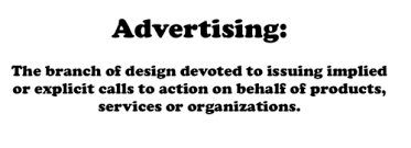 design definition in advertising ad teachings