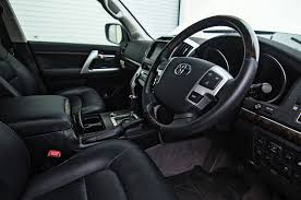 toyota land cruiser interior 2017 toyota land cruiser trd and ever better lc200 show two sides of