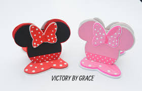 Mickey Mouse Table by Minnie Mouse Napkin Holder Or Mickey Mouse Napkin Holder