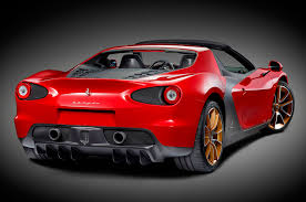 ferrari supercar concept first of six ferrari sergio supercars delivered