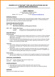 Resume Samples Student by Cv Sample U2013 Azzurra Castle Grenada