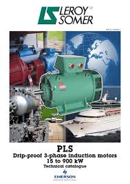 drip proof 3 phase induction motors 15 to 900 kw