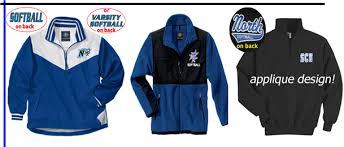 design jacket softball celtic custom promotional team apparel