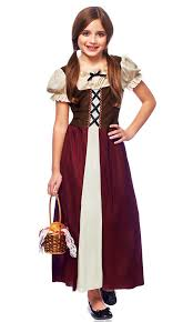 Ebay Halloween Costumes Adults Renaissance Medieval Peasant Child Kids Halloween Costume