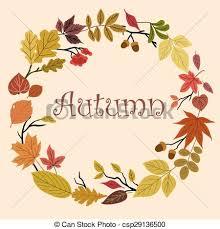 autumn wreath autumn wreath with acorns and leaves autumn foliage wreath