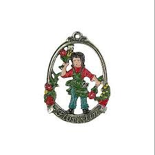 buy wedding couple german pewter christmas ornament in cheap price