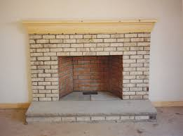stylish decoration fireplace brick pleasing painting brick