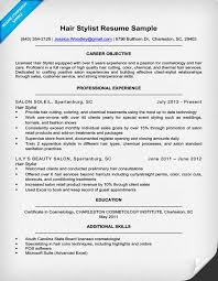 hairstylist resume exles resume exle for hair stylist archives ppyr us