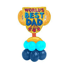 fathers day balloons best trophy fathers day balloon bouquet go balloons