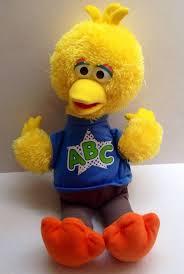 sesame rockin singing abc song 15 big bird plush soft
