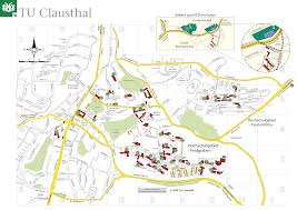 Photo Map Tu Clausthal Campuskarte