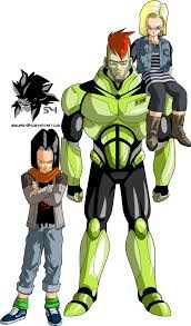 android 17 and 18 androids 16 17 and 18 mll redesign android saga by mad 54 on