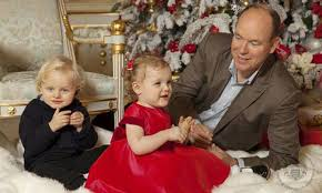 monaco u0027s royal family release official christmas card series