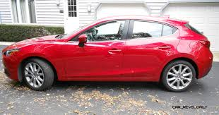 lexus coupe on 24s road test review 2014 mazda3 s grand touring