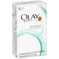 Sabun Olay olay sensitive 6 bar bath soap walmart