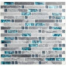 Best Cool Pool Tile Images On Pinterest Glass Tiles Pool - Teal glass tile backsplash