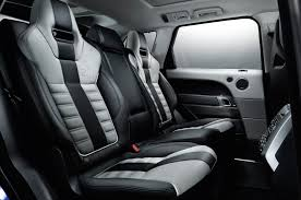 land rover interior 2016 land rover range rover sport svr prices specs and information