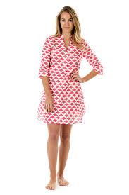 mantaray clothing womens linen flared dress manta pink house mustique