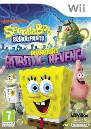 spongebob squarepants plankton u0027s robotic revenge nintendo 3ds