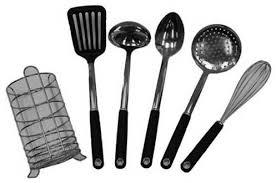 coffret ustensile cuisine ustensile de cuisine temium kit kitchen toolx6 darty