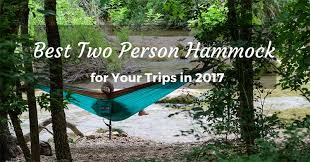 Winner Outfitters Double Camping Hammock by Top Best Two Person Hammock For Your Trips In 2017
