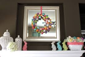 happy easter decorations ideas happy easter with lovely decor the mantel on easter table