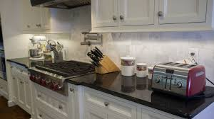 Backsplash Ideas Cherry Cabinets Small Kitchen Spaces With Black Pearl Granite Countertops With