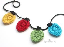 christmas applique crochet christmas light appliques repeat crafter me