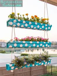 Diy Garden Ideas 20 Easy Diy Gutter Garden Ideas Garden Decor 1001 Gardens