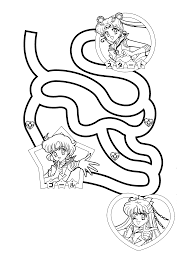 coloring page sailormoon coloring pages 1