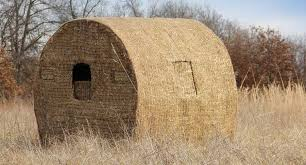 Hunting Ground Blinds On Sale Building A Diy Bale Blind Can Be As Easy As You Want It To Be