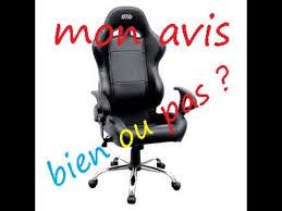 test fauteuil de bureau test mon avis sur le fauteuil de bureau gamer gt2i fr hd