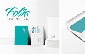 branding logo design logo design branding division design folia garden design logo