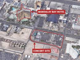 Las Vegas Hotel Map Las Vegas Shooter Paddock Checked In To Hotel 3 Days Before